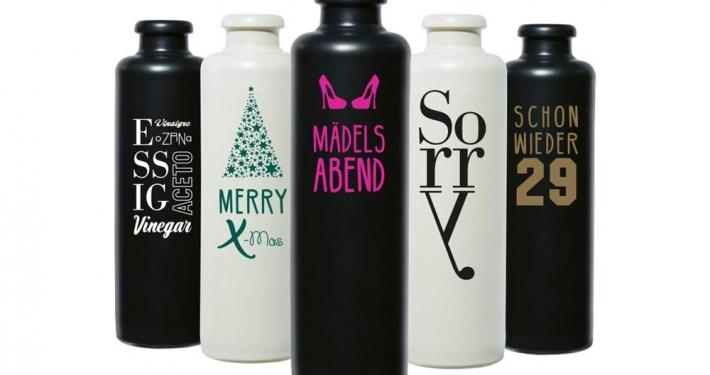 Tonflaschen